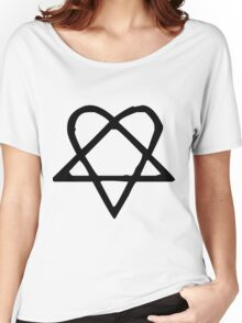 Funky Star. Women's Relaxed Fit T-Shirt