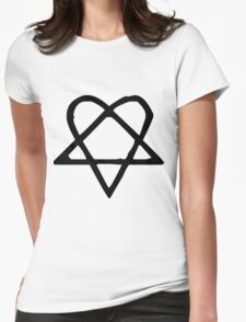 Funky Star. Womens Fitted T-Shirt