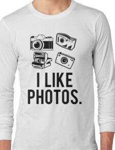 i like photos. Long Sleeve T-Shirt