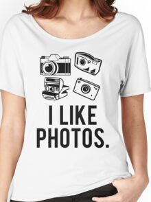 i like photos. Women's Relaxed Fit T-Shirt