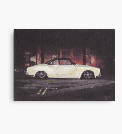 Lower Canvas Print