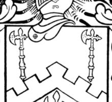 Family Crest 1 Sticker