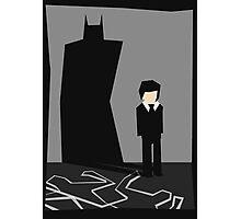 The Darkest Knight Photographic Print