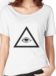 ILLUMINATI. Women's Relaxed Fit T-Shirt