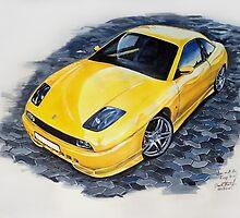Fiat coupe  by braik tiberiu alexandru