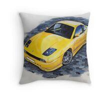 Fiat coupe  Throw Pillow