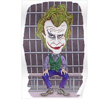 Joker Illustration Poster