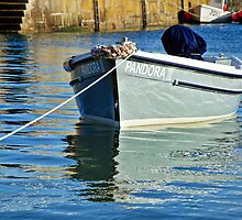 Pandora III ~ Mousehole Harbour by Susie Peek