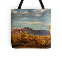 The Desert Golden Hour Tote Bag