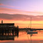 Provincetown Harbor before Sunrise by Roupen  Baker