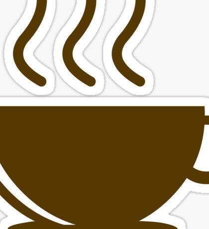 Need Coffee Now! Sticker