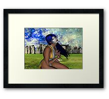 Pagan Meditation Framed Print