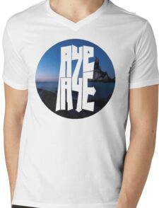 AYE AYE  Mens V-Neck T-Shirt