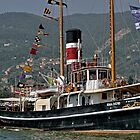 Steam Powered Tugboat by paolo1955