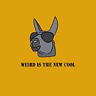 Weird is the New Cool - iPhone Case by Amonitas8475