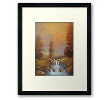 Hobbit's Adventure (Set For A Fall) Framed Print