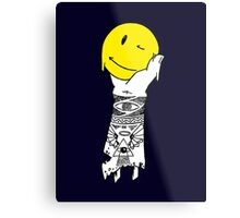 smiley arm Metal Print