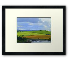 A Layered Landscape Framed Print