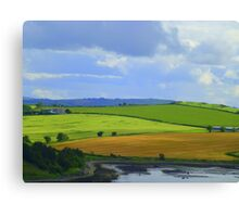 A Layered Landscape Canvas Print