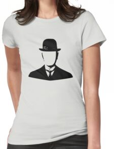 son of man appleless - black Womens Fitted T-Shirt