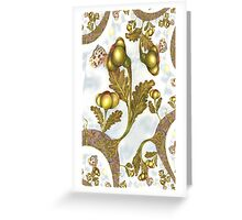 St John's Thistle Garlick Fractal Greeting Card