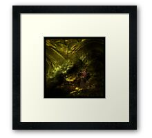 Enchanting forest Framed Print