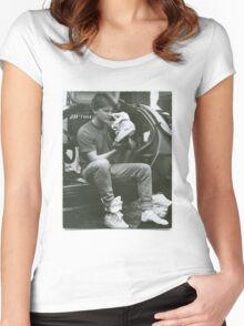 Marty Mcfly Back to the future Women's Fitted Scoop T-Shirt