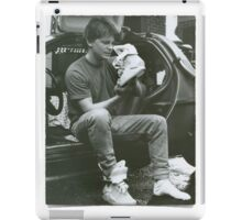 Marty Mcfly Back to the future iPad Case/Skin