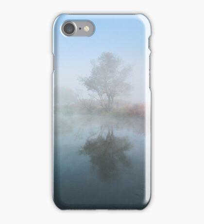 Misty river iPhone Case/Skin