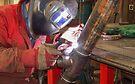 "Me Tig welding 3"" pipe. by Kit347"