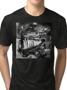 Emerge, detail 1 Tri-blend T-Shirt