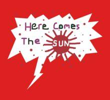 HERE COMES THE SUN 2012   TEE SHIRT/BABY GROW by Shoshonan