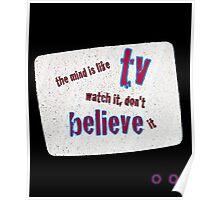 TV Belief Poster