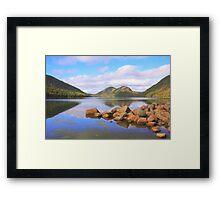 Jordan Pond, Acadia National Park Framed Print