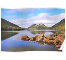 Jordan Pond, Acadia National Park Poster