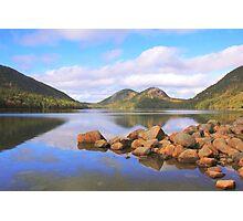 Jordan Pond, Acadia National Park Photographic Print