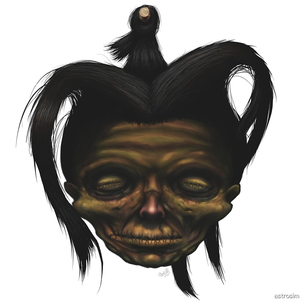 Shrunken Head by astrosim