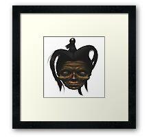 Shrunken Head Framed Print