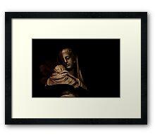 Forgotten Angel Framed Print