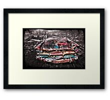 smash palace wreck  Framed Print