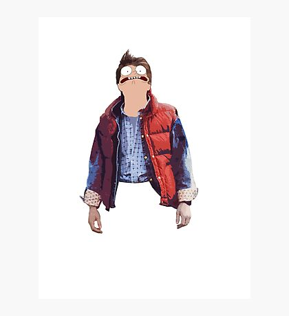 Morty McFly Photographic Print