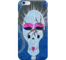 Asian Sugar Skull iPhone Case/Skin