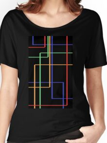 surrealistic stripes Women's Relaxed Fit T-Shirt