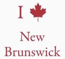 I Love New Brunswick by Scott Ruhs