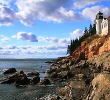 Bass Harbor Head Lighthouse by Roupen  Baker