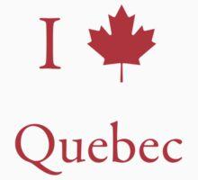 I Love Quebec by Scott Ruhs