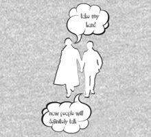 Sherlock - Take My hand One Piece - Long Sleeve