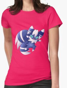Meowstic Womens Fitted T-Shirt