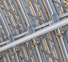 Blue girders by laurabaker
