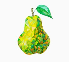 Low Poly Watercolor Pear Unisex T-Shirt